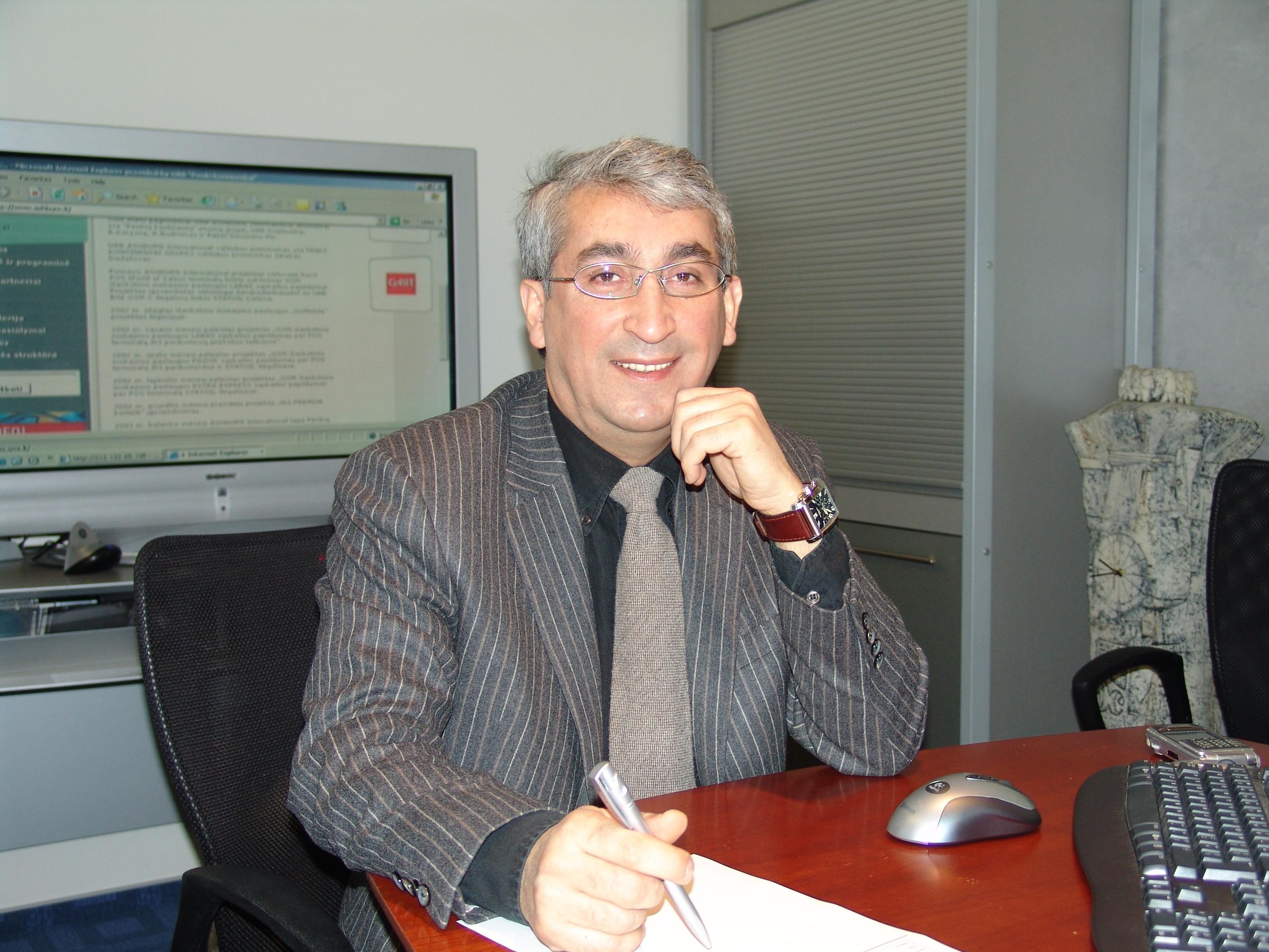 Idrakas Dadašovas: sėkmės pagrindas – darnus darbas komandoje