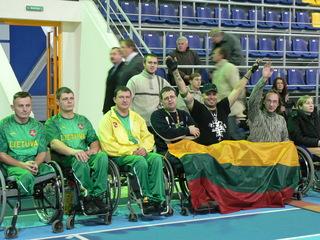 neįgaliųjų spartakiada 2007