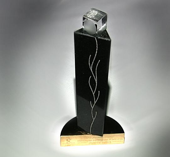 Penki kontinentai wins an award for an innovative solution