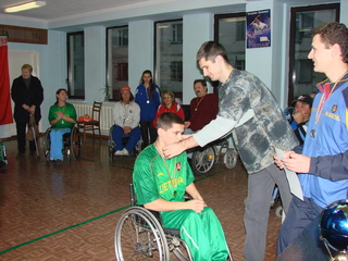 neįgaliųjų varžybos