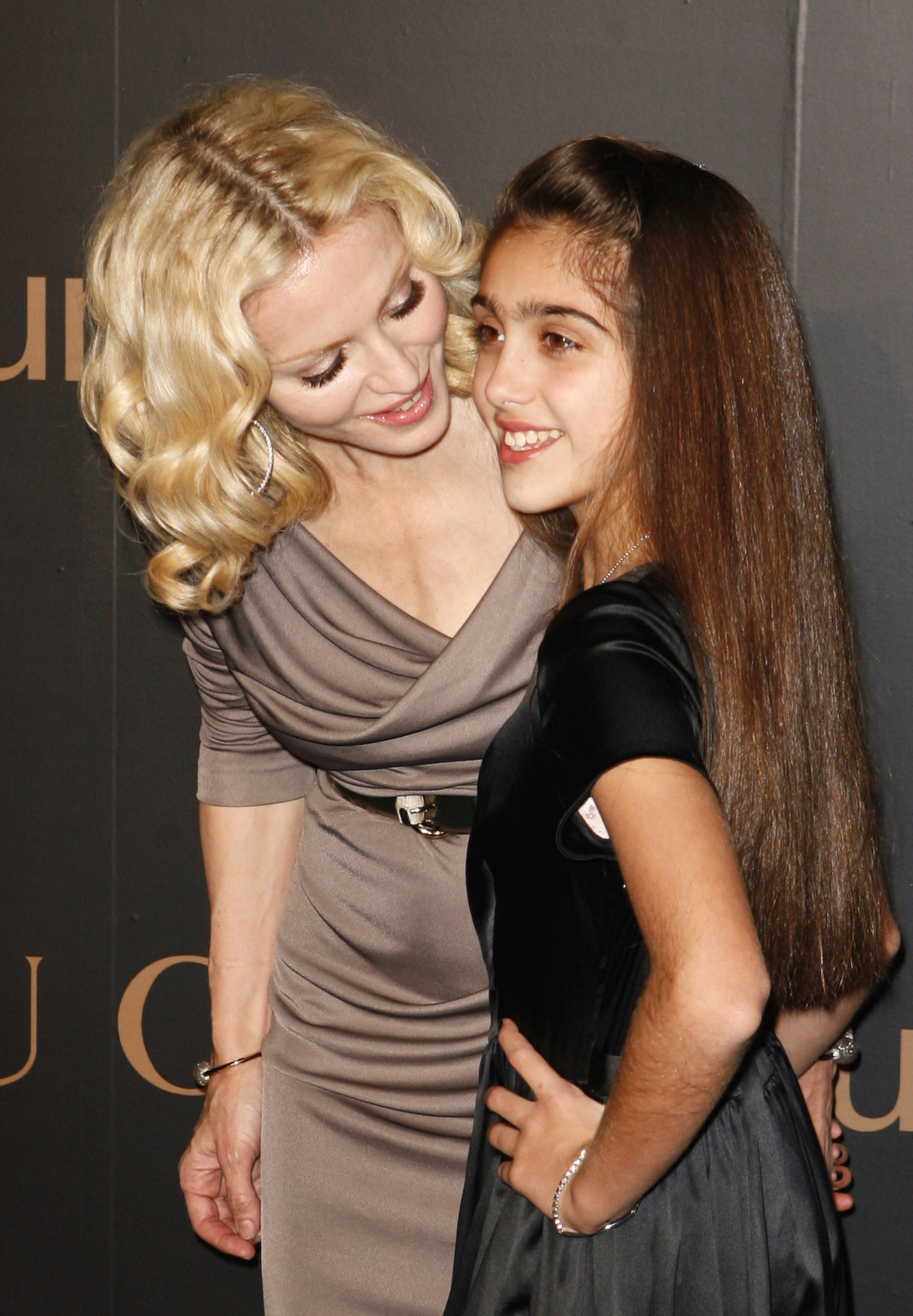 Photo of Madonna & her Daughter  Lourdes Maria Ciccone Leon
