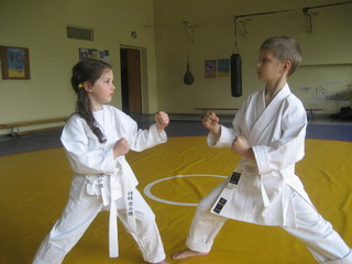 Karate vaikų kova