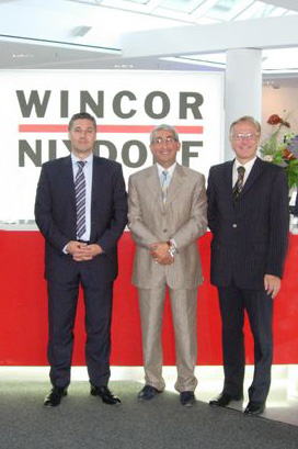 Top Management Meeting of Wincor Nixdorf and Penki Kontinentai Group in Germany