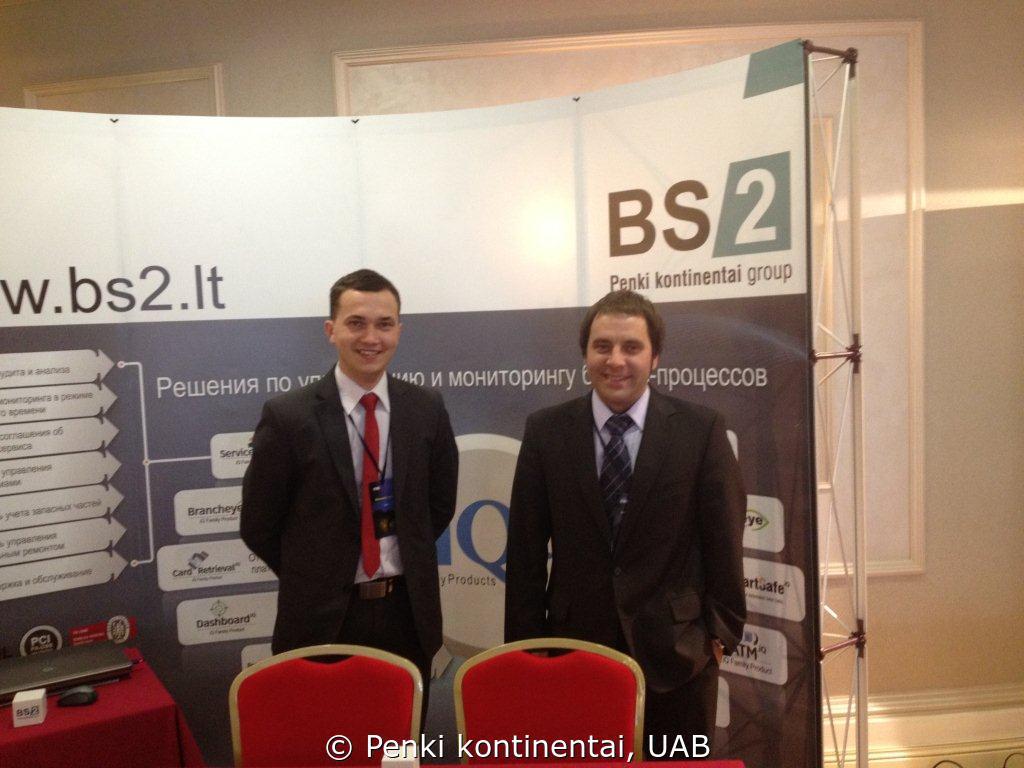 """Konferencijoje """"ATMs in Russia & CIS"""" BS/2 pristatė savo sprendimus"""