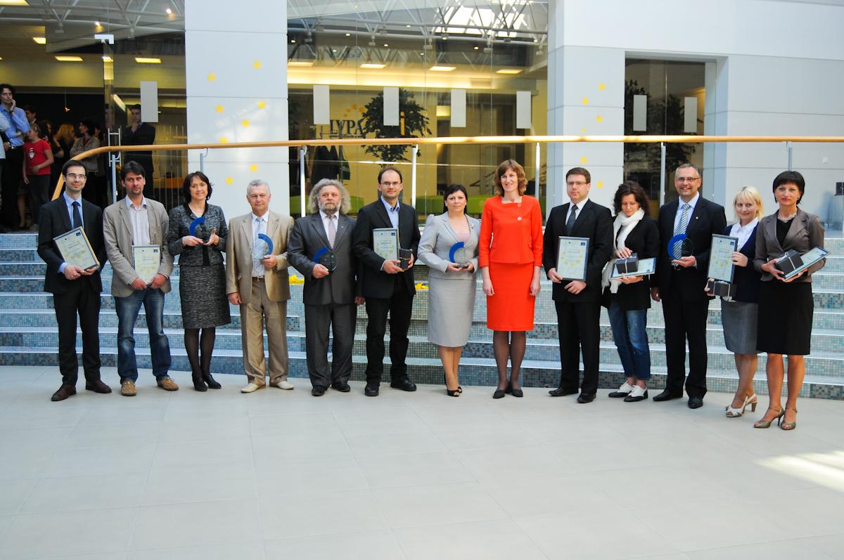 Europos dieną geriausioms įmonėms įteikti LVPA apdovanojimai