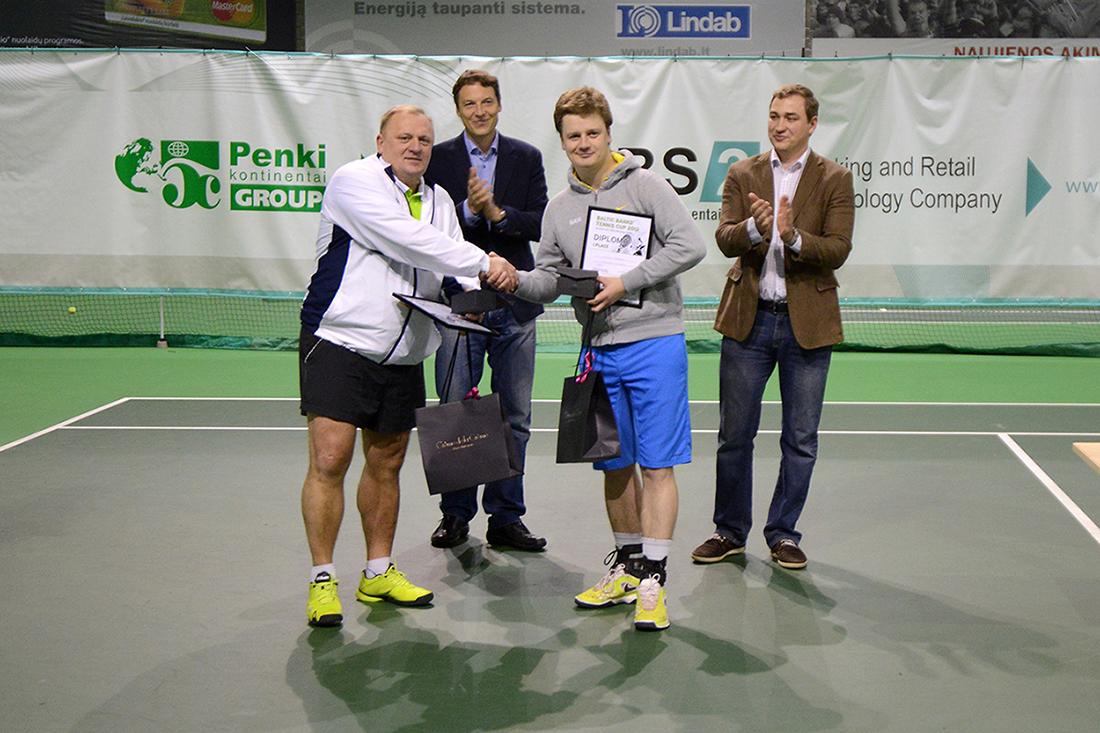 """""""Baltic Banks Tennis Cup"""" sutraukė rekordinį dalyvių skaičių"""