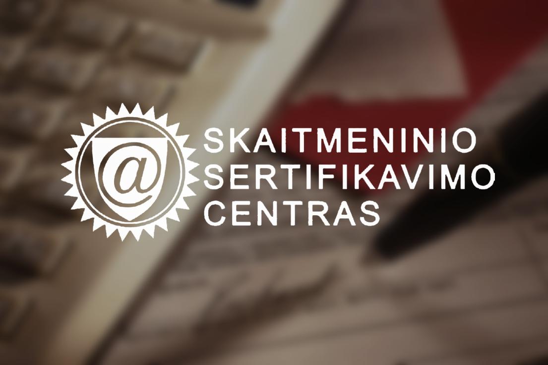 """""""Skaitmeninio sertifikavimo centras"""" mini veiklos 10-metį"""