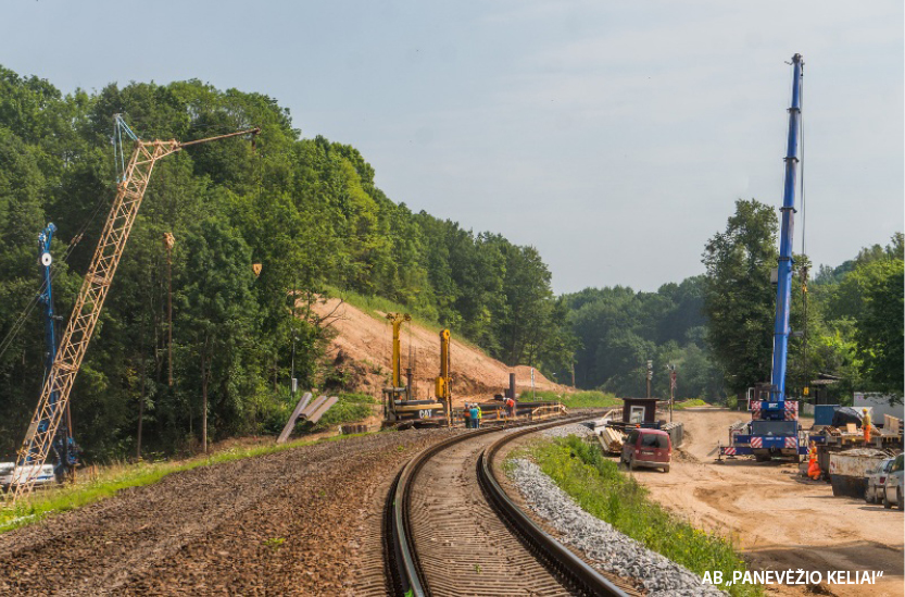 """In the European gauge """"Rail Baltica"""" construction project"""