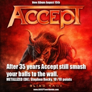 ACCEPT 2014 CD cover