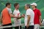 Baltic financiers competed in tennis tournament