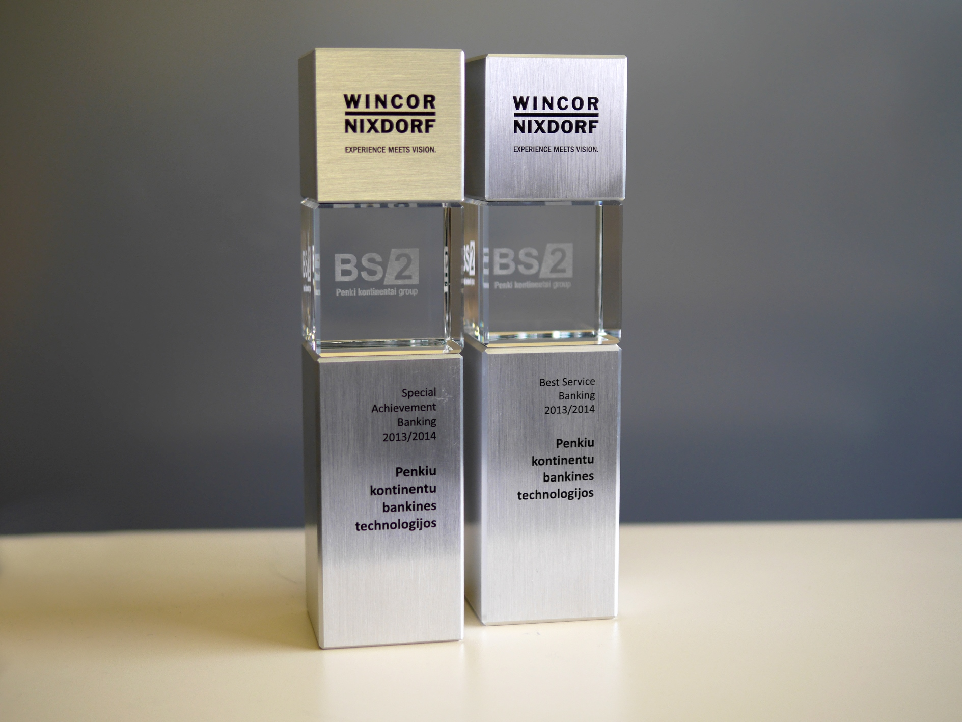 BS/2 Awarded for Its Successful Performance at Wincor Nixdorf Partner Summit