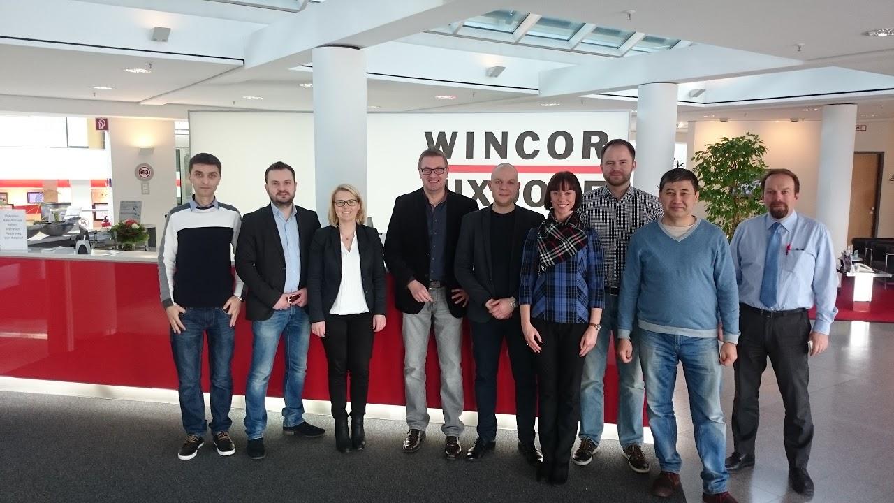 """Pardavimo specialistai kėlė kvalifikaciją """"Wincor Nixdorf"""" mokymuose"""