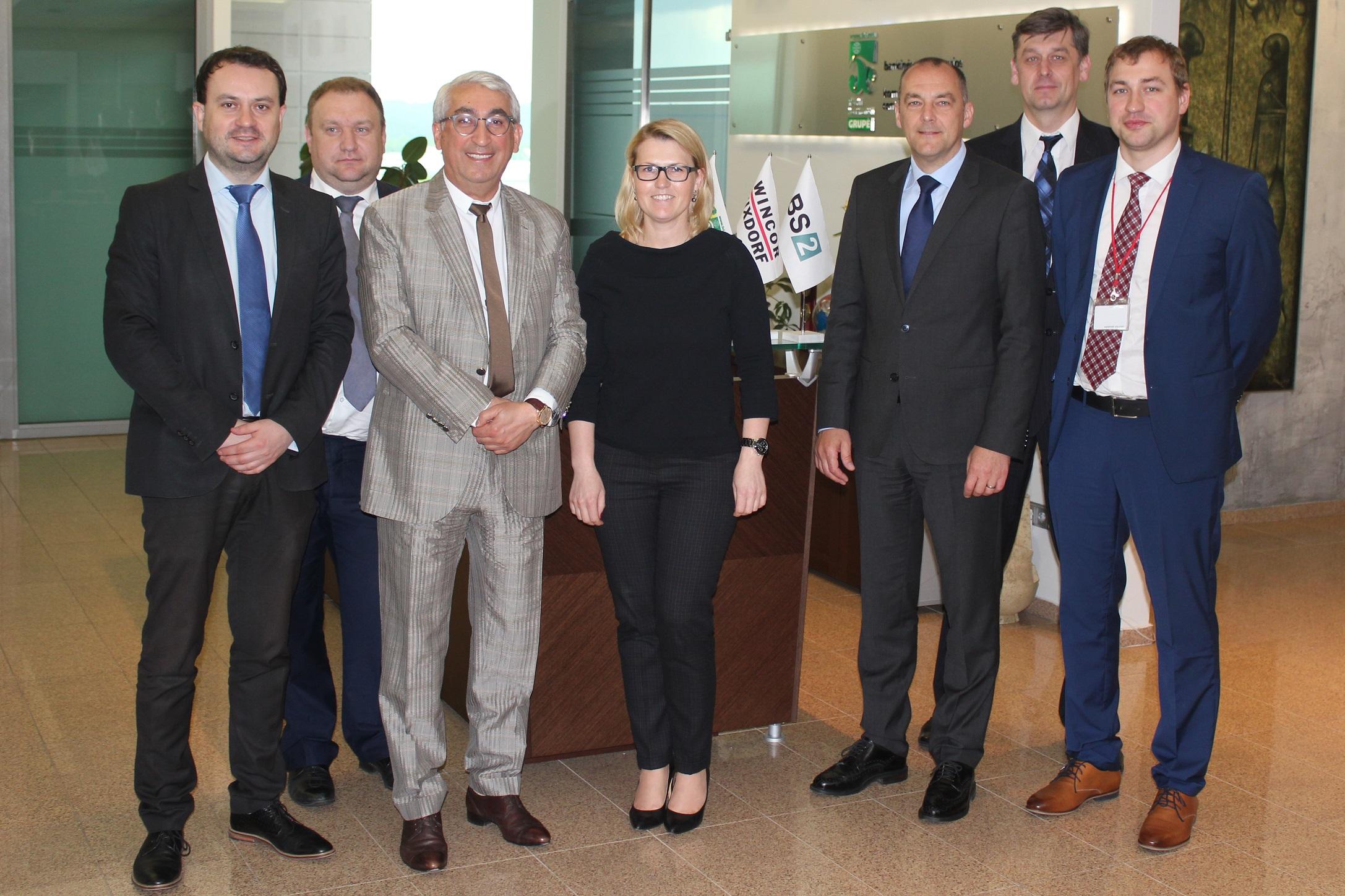 "Vilniuje lankėsi kompanijos ""Wincor Nixdorf"" atstovai"