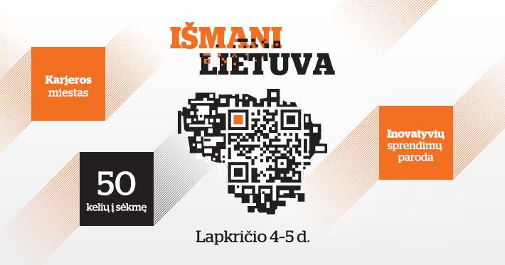"""Vilniuje vyks modernių technologijų paroda """"Išmani Lietuva 2016"""""""