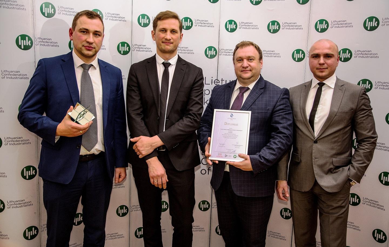Penkių kontinentų bankinės technologijos Awarded Innovative Product Prize