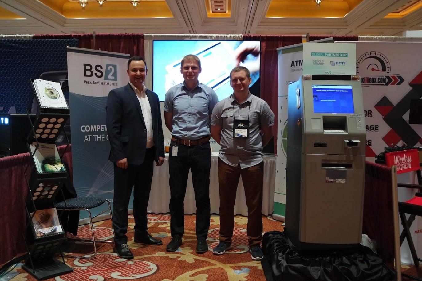 BS/2 dalyvavo vienoje stambiausių bankinių technologijų parodų JAV