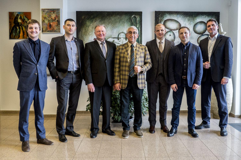 """Įmonių grupėje """"Penki kontinentai"""" lankėsi """"Farnell"""" atstovai iš Baltarusijos"""