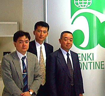 STAR MICRONICS ASIA LTD. atstovai susitiko Penkių Kontinentų vadovybe