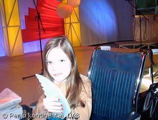 Laura Alčiauskaitė džiaugiasi apdovanojimu – gerumo sparnais