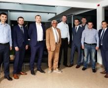 Emilio Kiris (BS/2 Georgia), K.Šišla ir T.Augucevičius (BS/2),  I.Dadašovas (Penki kontinentai Group), A. Ketišvili (Liberty bank), A.Smirnov (BS/2 Georgia), L.Ugrekhelidze (Liberty bank), V.Maisuradze (Liberty bank), E. Musayev (BS/2)
