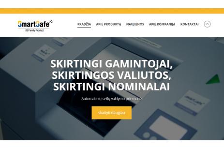 """Atnaujinta """"SmartSafe<sup>.iQ</sup>"""" interneto svetainė"""