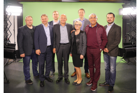 Diebold Nixdorf's Top Managers Visited Penki Kontinentai