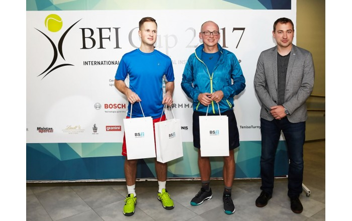 1frst in Men's team contest: Edgars Rauza/ Gediminas Būda (Luminor, Prodentus) and Tomas Augucevičius (BS/2)