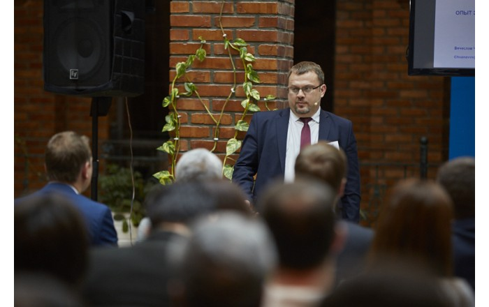 Rusijos banko VTB24 Savitarnos įrangos tinklo departamento vadovas Večeslav Chvanov