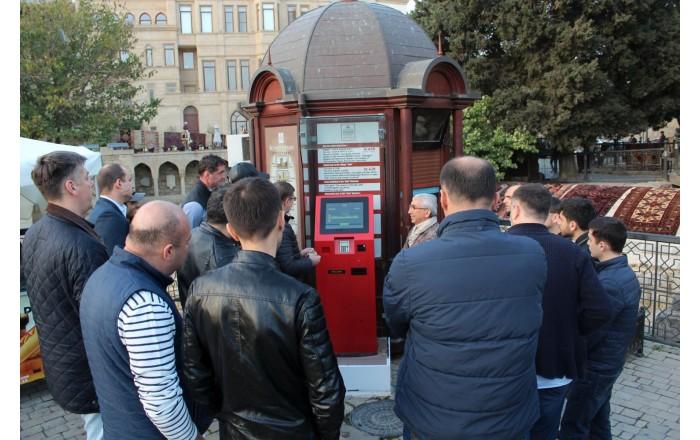 Vienas iš BS/2 bankinės įrangos projektų Baku gatvėse