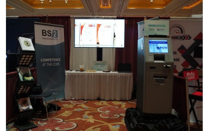 BS/2 stendas ATMIA 2018 konferencijoje Las Vegase