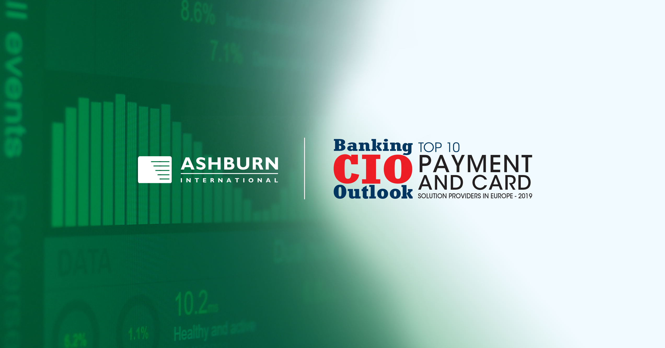 ASHBURN International in TOP 10 Payment and Card Solution Providers in Europe 2019