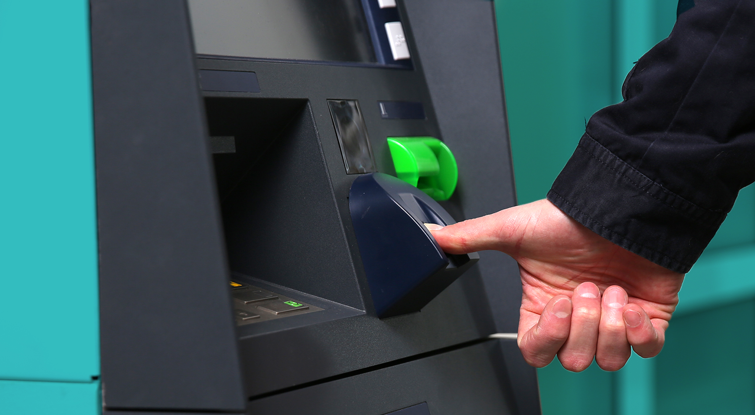Latvian microfinance organization LAKS gives fingerprint loans through an ATM