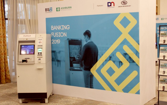 An exhibition of modern solutions for banks