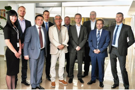 "Delegation from the Moldovan bank ""Banca de Economii"" visited a BS/2 company"